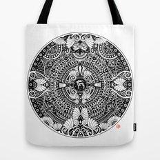 deer mandala Tote Bag