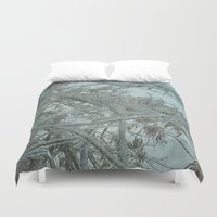 frozen Duvet Covers featuring Frozen by DesignsByMarly