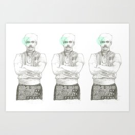 The Strongest Man in the World Art Print