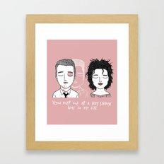 T & M Framed Art Print