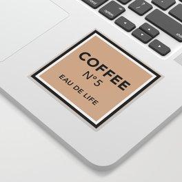 Latte No5 Sticker
