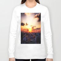 concrete Long Sleeve T-shirts featuring Beautiful Concrete by Sumii Haleem