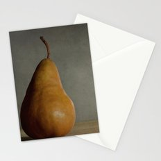 Brown Pear Stationery Cards