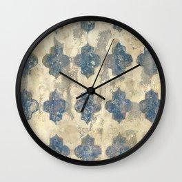 Faded Grandeur - Original Art by Tracy Sayers Trombetta Wall Clock