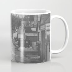 #backlanesofwpg five Mug