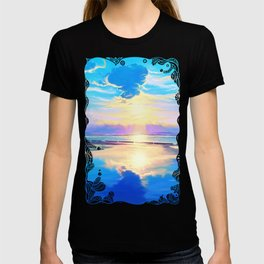 Sunset on the sea T-shirt