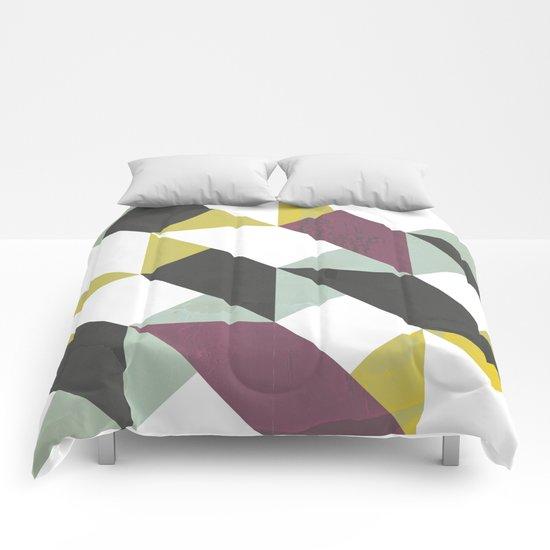 Geometric decor Comforters