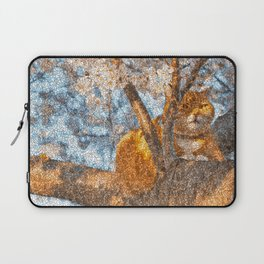 Ginger Cheshire Cat Laptop Sleeve