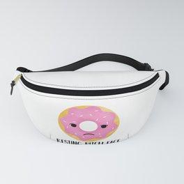 Resting Bitch Face | Pink Sprinkled Donut Fanny Pack