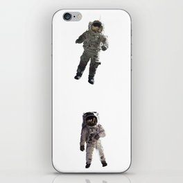 Flying Astronouts iPhone Skin