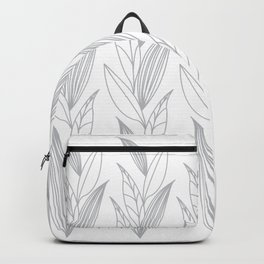 Eternity in Silver Leaf II Backpack