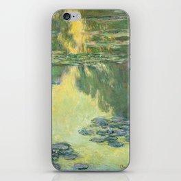 "Claude Monet ""Water lilies"" (11) iPhone Skin"