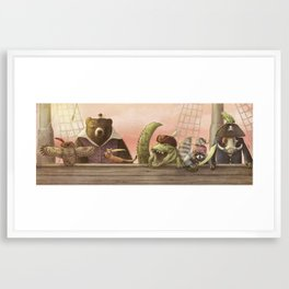 Pirates! Framed Art Print