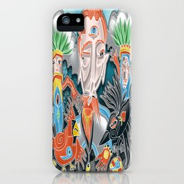 the cardinal and the crow iPhone Case