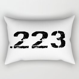 .223 Ammo Rectangular Pillow