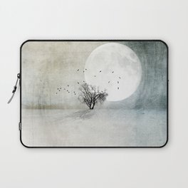 Only the Moon Knows Laptop Sleeve
