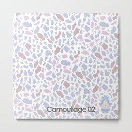 camouflage 02 Metal Print