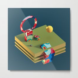 Much Ado in Candyland Metal Print