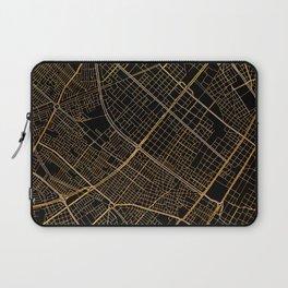 Bogota map, Colombia Laptop Sleeve