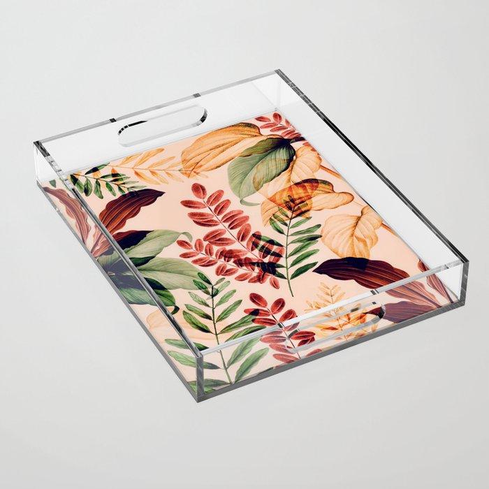 Tropical Rainforest Acrylic Tray