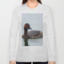 Eared Grebe Long Sleeve T-shirt