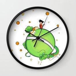 Le Petit Saiyan Wall Clock