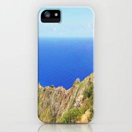 Koko Head Crater Rim And Blue Ocean iPhone Case