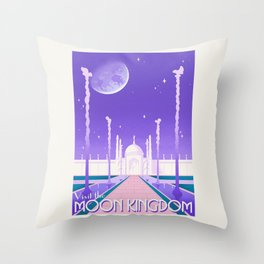 Visit the Moon Kingdom / Sailor Moon Throw Pillow