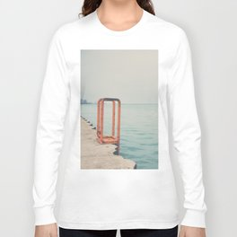 the orange steps ... Long Sleeve T-shirt
