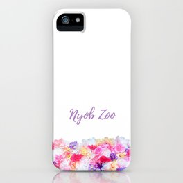 Nyob zoo spring bags iPhone Case