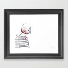 curtain Framed Art Print