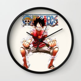 Luffy Super the Pirates - OnePiece Wall Clock