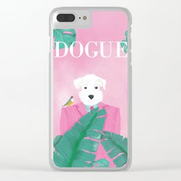Dogue - Palms Clear iPhone Case