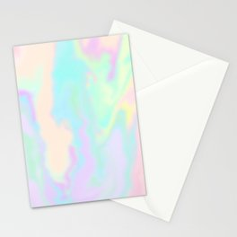 Iridescent Paint Stationery Cards
