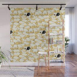 Find The Spy Pattern Wall Mural