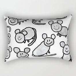 Mouse colony Rectangular Pillow