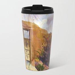 A Southwestern Gate Travel Mug