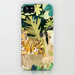 Tiger Sighting iPhone Case
