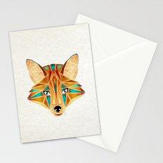 blue fox Stationery Cards