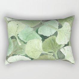 Ginkgo Leaves Rectangular Pillow