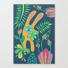 Pensive Rabbit Canvas Print