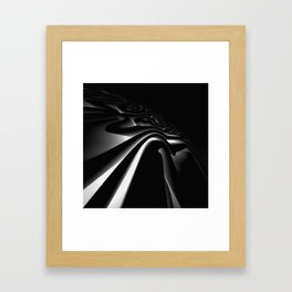 Path: digital art Framed Art Print