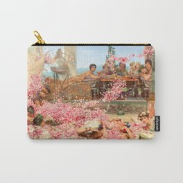 The Roses of Heliogabalus by Sir Lawrence Alma-Tadema Carry-All Pouch