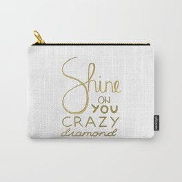 Shine on You Crazy Diamond Gold I Carry-All Pouch