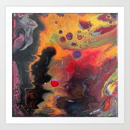 The Devils Rain Forest 12 x 12 Acrylic on Canvas Art Print