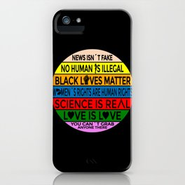 News isnt Fake You cant grab Anyone There iPhone Case