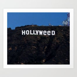 HOLLYWEED Art Print