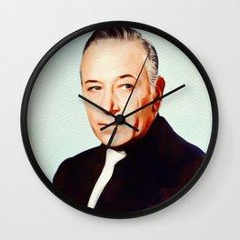 George Raft, Vintage Actor Wall Clock