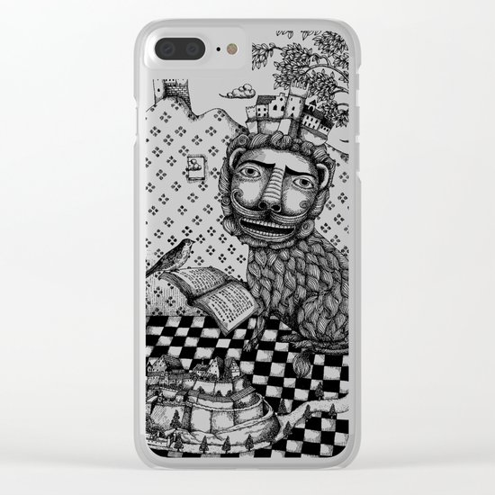 The Lion's Story Hour Clear iPhone Case