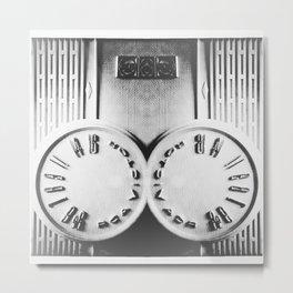 Radio oidaR Metal Print